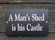 SHED SIGNS